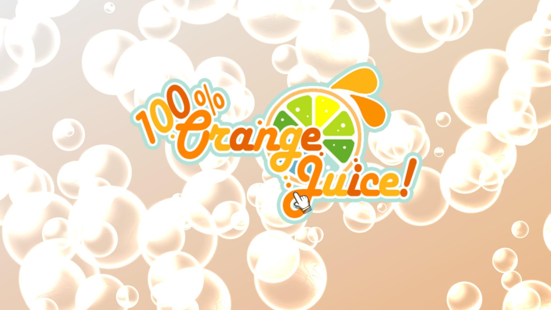 100 Orange Juice Please Insert Cd